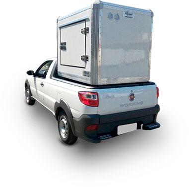 Box Ice Truck