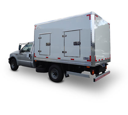 Furgón Ice Truck Heladero